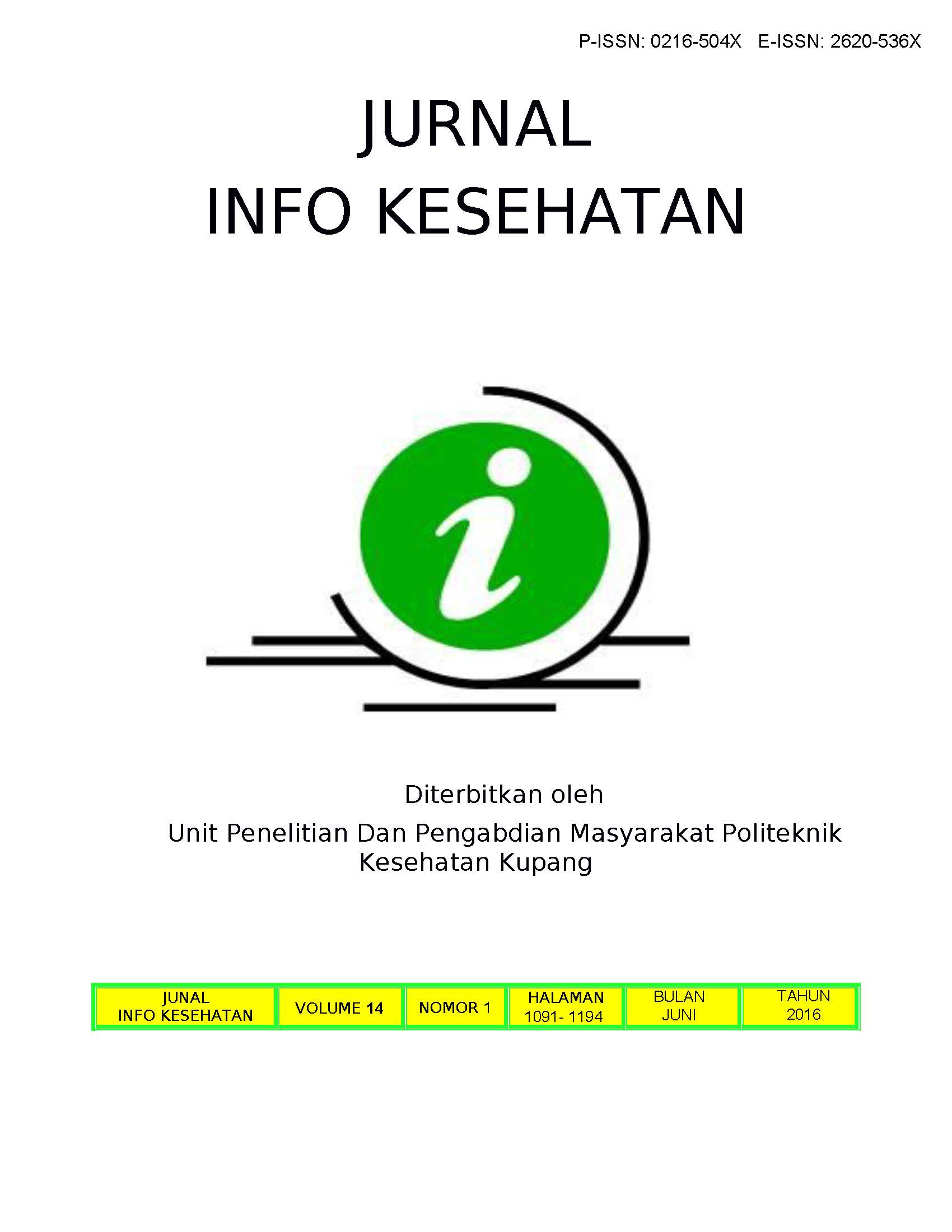 The Relationship Of Fe Zink Zn And Vitamin A To The New Students Of Elementary School S Nutrient Status In Outskirts Of Kupang City East Nusa Tenggara Province Jurnal Info Kesehatan