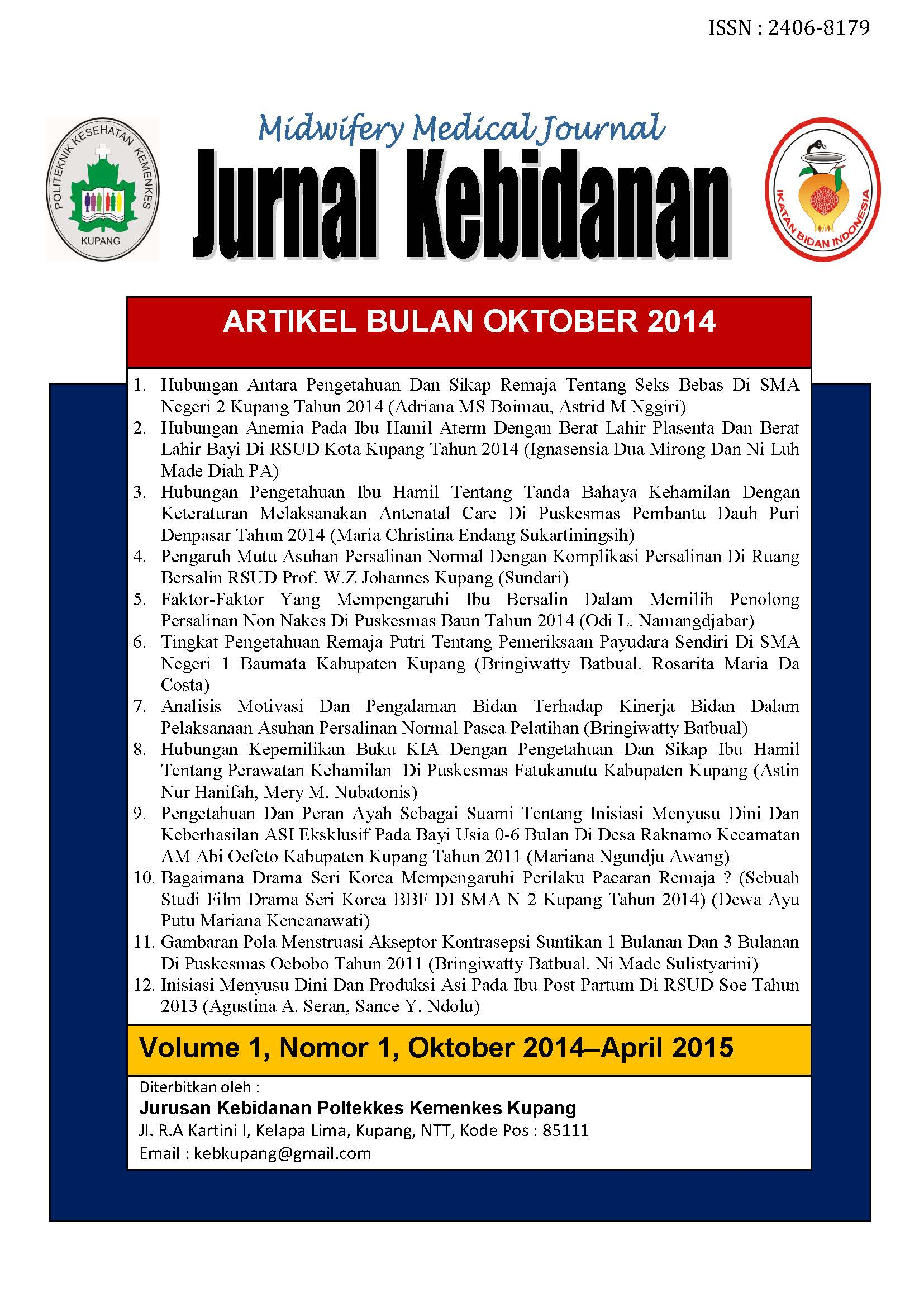 MIDWIFERY MEDICAL JOURNAL